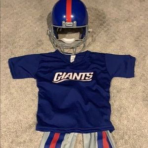 NY Giants costume size small youth